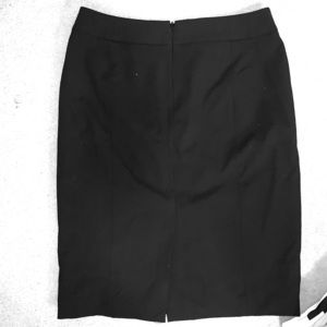 Calvin Klein Pencil Skirt Black